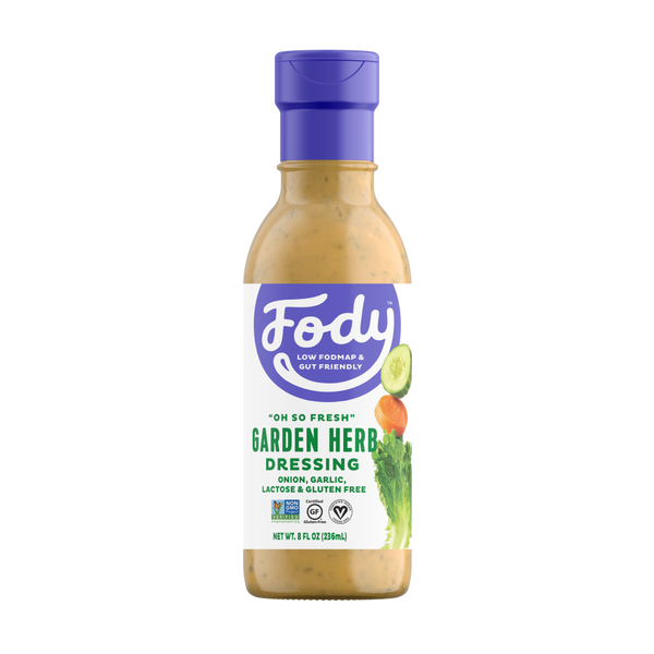 <b><big> Low FODMAP Garden Herb Dressing </big></b><br><small> New & Improved </small>