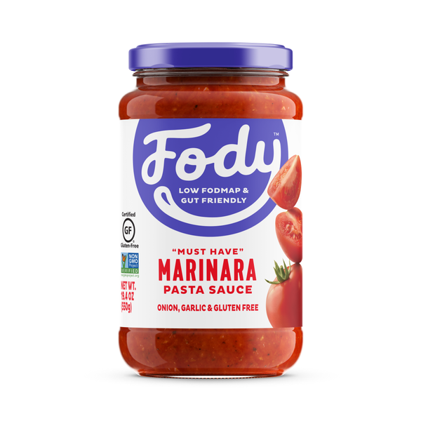 <b><big> Low FODMAP <br> Marinara Sauce </big></b><br><small> Made in Italy</small>