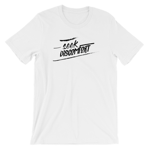 YES THEORY SEEK DISCOMFORT SHIRT - Fan of a Fan