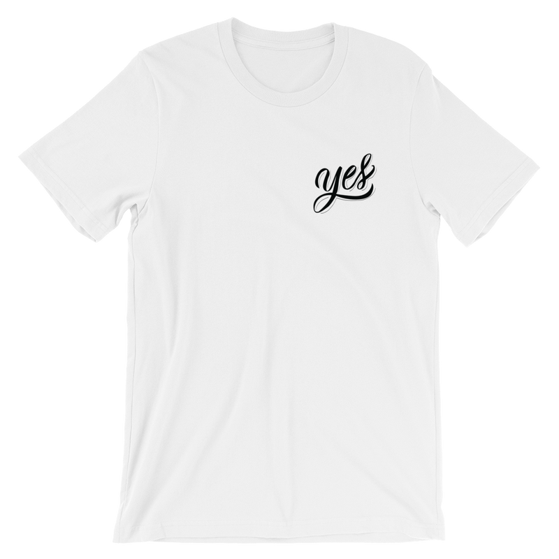 YES THEORY SIGNATURE YES SHIRT - Fan of a Fan