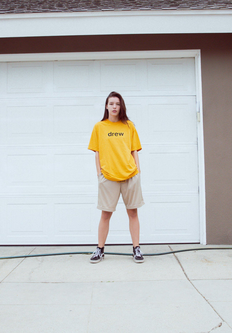 Secret SS Tee - Golden Yellow