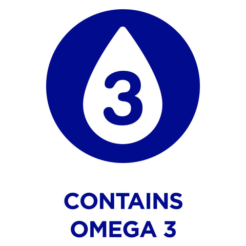 Contains omega-3