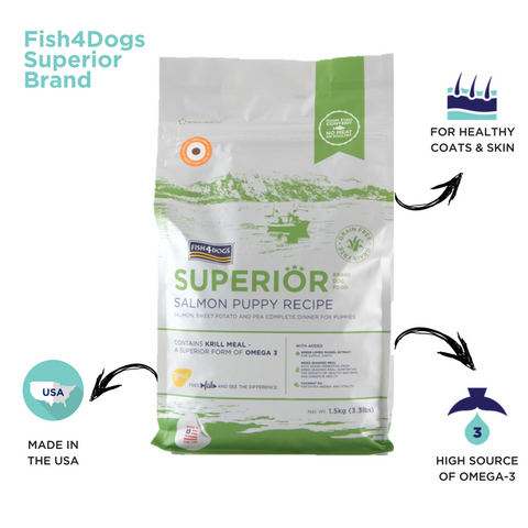 Superior Salmon Puppy Infographic