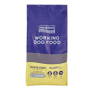 Working Dog Puppy Ocean White Fish Complete Food