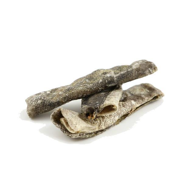 skinny strips sea jerky product close up image