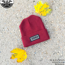 Mc & Co. NYC™ Signature Burgundy Skully Hat