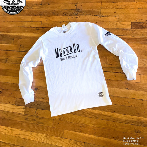 Mc & Co. Made In Brooklyn Long Sleeve Tee