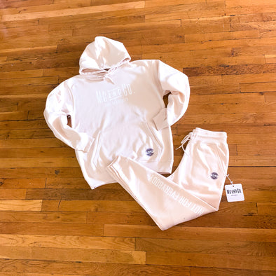 Made In Brooklyn Blush Beige Sweatsuit