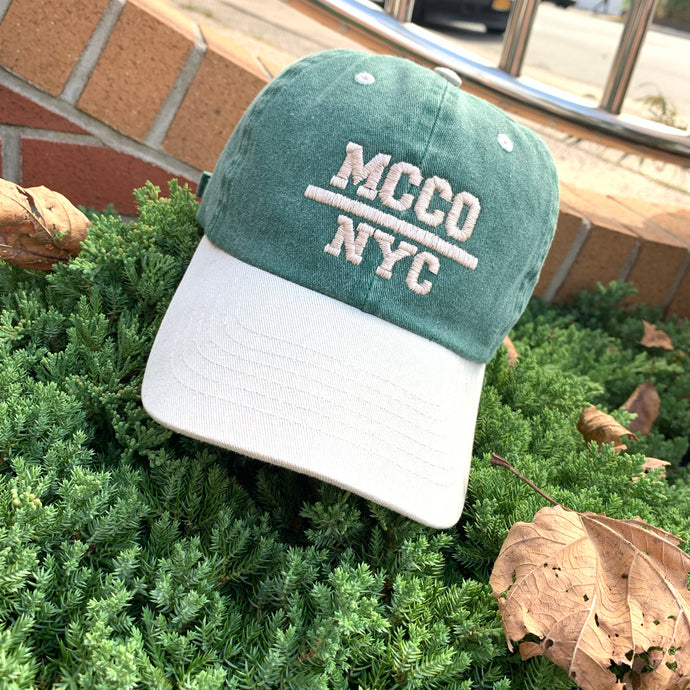 "Tone Two ""Ash Green"" MCCO NYC Dad Hat"