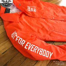 "The ""Not For Everybody"" Safety Orange Coach Jacket"