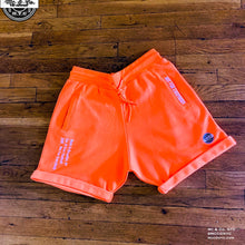 "Neon Orange ""Mc & Co. Made In Brooklyn"" Shorts Set"