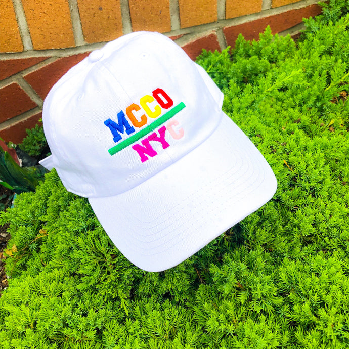 """Color Block"" MCCO NYC Dad Hat"
