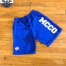 Royal Blue MCCO French Terry Shorts