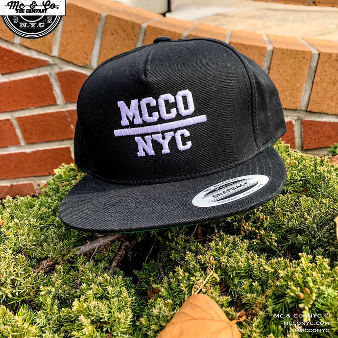 """MCCO NYC"" Five Panel Snap Back"