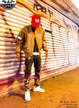 "Mc & Co. NYC™ ""MCCO"" Strap Flight Varsity Bomber Jacket"