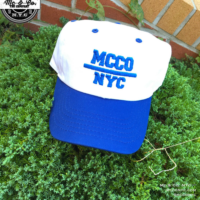 "Royal Blue ""MCCO NYC"