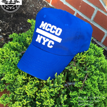 "Royal Blue ""MCCO NYC"" Dad Hat"