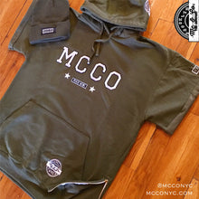 """MCCO Peace Now"" Olive Green Hooded SweatSuit"