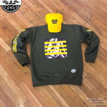 Sunglow Yellow Two Girls One Love Graphic Pullover