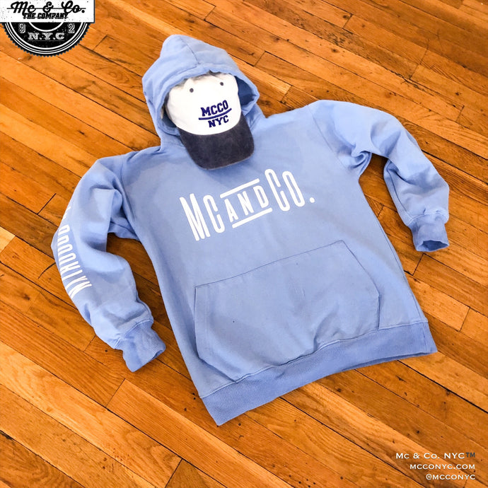 Made In Brooklyn Carolina Blue Mc & Co. Hoodie