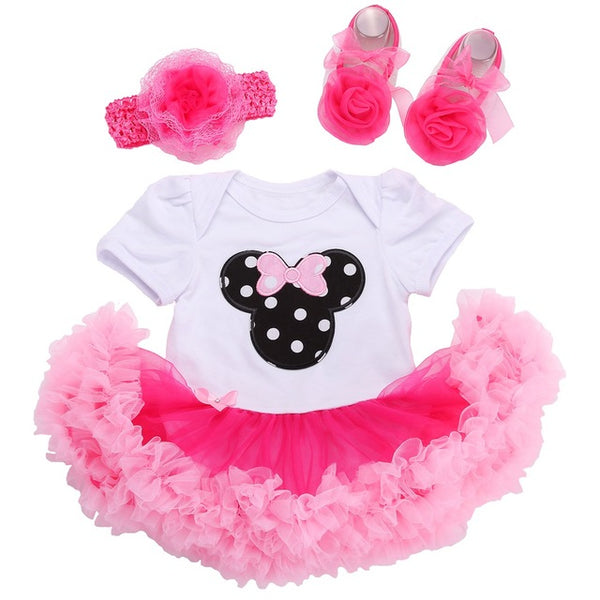 70058bfd34364 Baby Girl Dress Shoes Baby Headband Set,Vestido Ropa Bebe Menina,Newborn  Baby Girl Clothes Set,infant toddler Girl clothing 2017