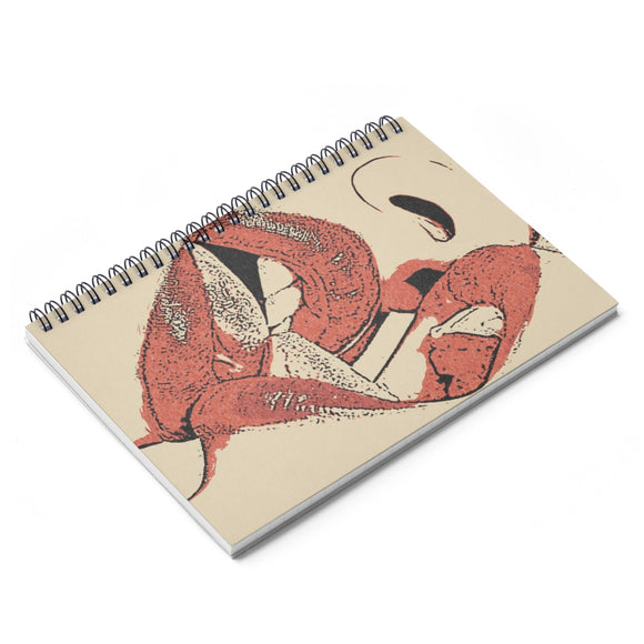 Spiral Notebook - Ruled Line - Girls love to play Dirty
