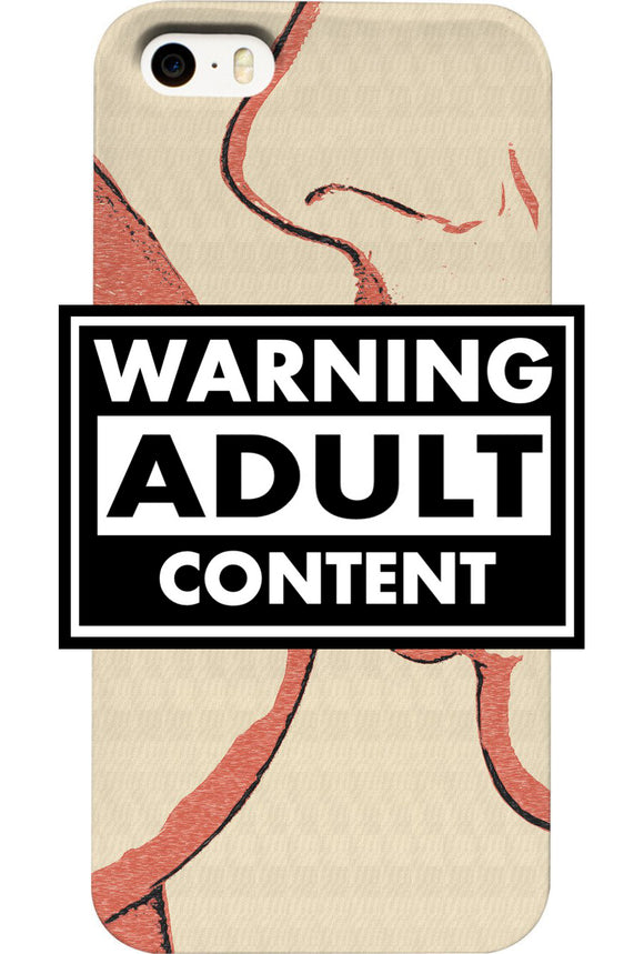 NSFW! Adult warning. Dirty girls love naughty games, sexy in lesbian way mobile phone case design