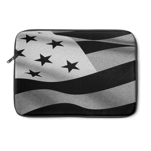 Laptop Sleeve, Carry Bag, 3 sizes - Black flag pencils sketched