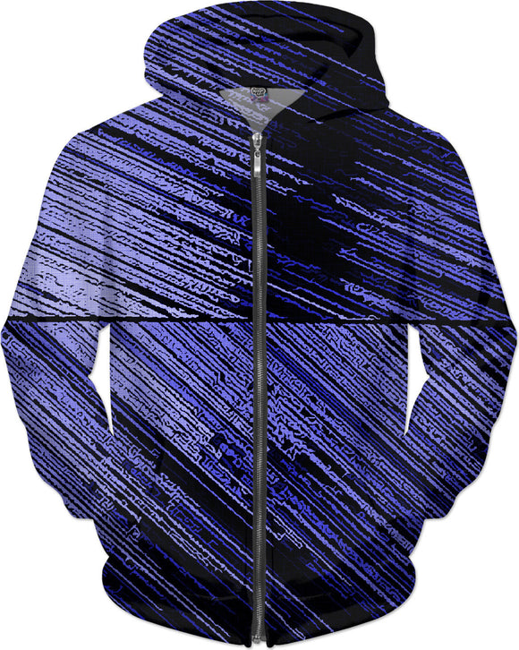 Line Art - The Scratch, dark blue, dark fabric canvas all-over-print hoodie