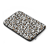 Laptop Sleeve, Carry Bag, 3 sizes - Leopard spots pattern