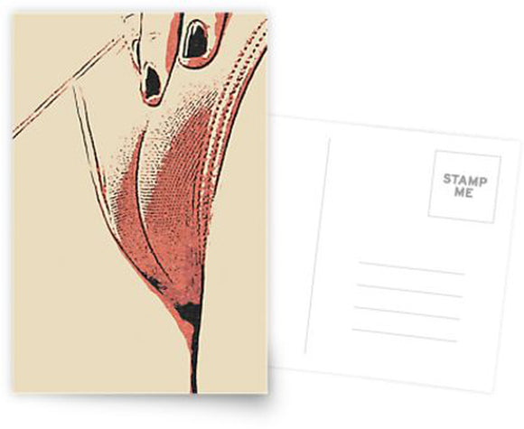 Erotic Postcard, Greeting Card, Photo Card - Have you ever seen camel live?