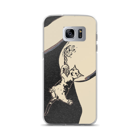 Samsung Galaxy Solid Case - Hug me i feel lonely!