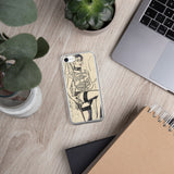 Apple iPhone Solid Case - Fetish submissive, sexy slave girl