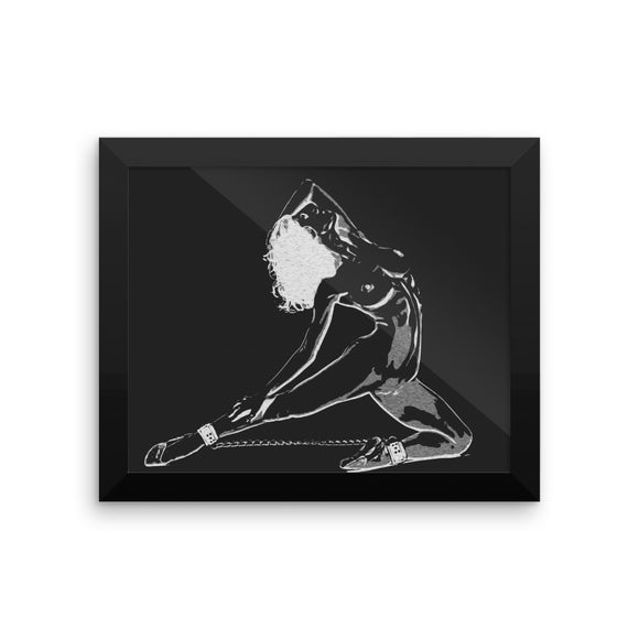 Adult Art Premium Luster Photo Paper Framed Poster - Dance baby, dance