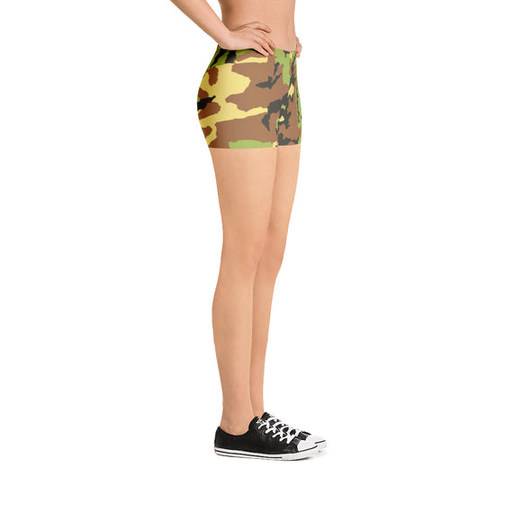 All-over-print Sport Shorts - Classic army, camo pattern