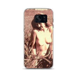 Samsung Galaxy Solid Case - Sweet and sexy, outdoors in sepia