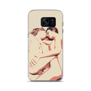 Samsung Galaxy Solid Case - Girls love to play Dirty