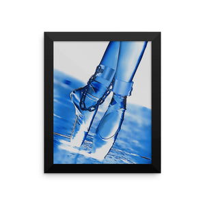 Adult Art Premium Luster Photo Paper Framed Poster - Bondage ballet