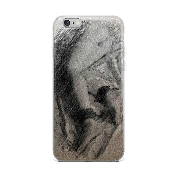 Apple iPhone Solid Case - Slim and bound, charcoal