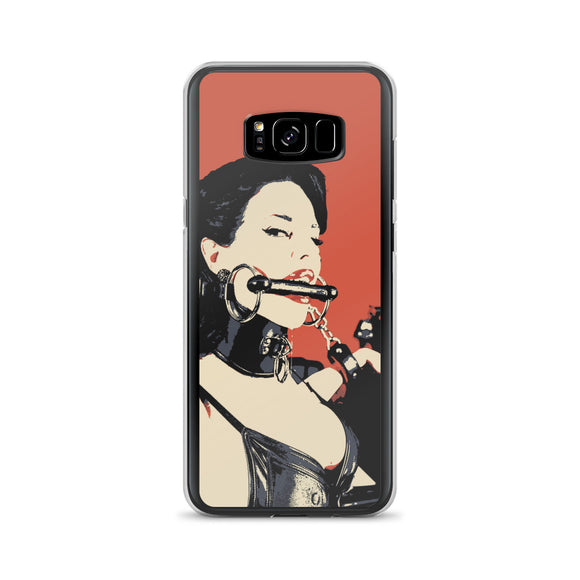 Samsung Galaxy Solid Case - Fetish Queen defeated