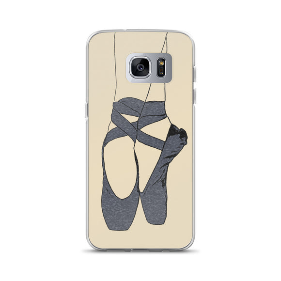Samsung Galaxy Solid Case - Ballet dancer
