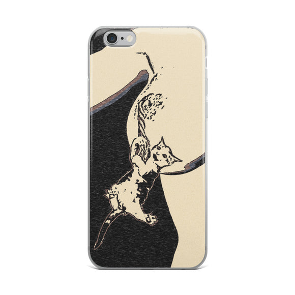 Apple iPhone Solid Case - Hug me i feel lonely!