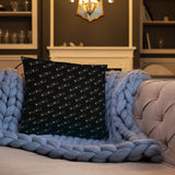 Stylish Pillows with insert, home decor - XOXO black and white