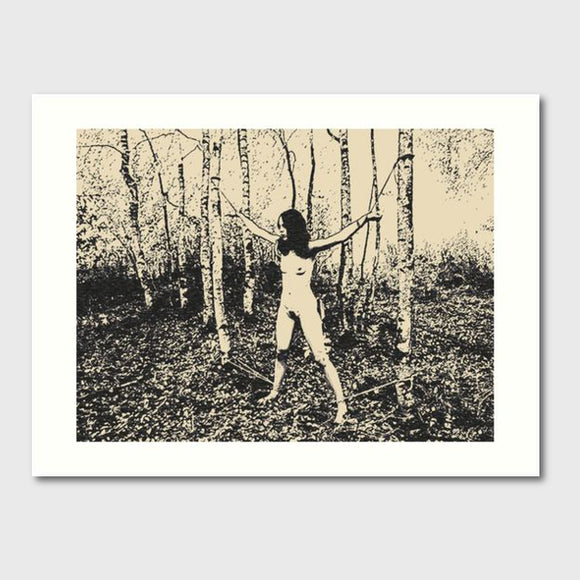 Gallery quality Giclée art print - Fetish games in the Nature