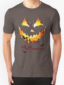 Unique Halloween Party T-shirt - Jack'o'Lantern Happy Halloween 1st pool of colors