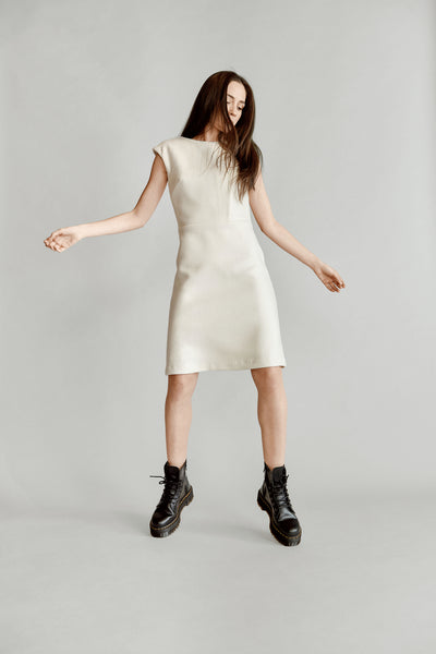 NOV. 17. Cashmere X-Panel Dress - Only 2 Left! - 25% OFF