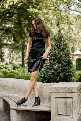 Silk T-Shirt Dress- 50% OFF