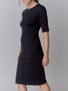 Black NEO Vertical Dress