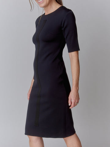 Black NEO Vertical Dress (Pre - Order - Ships Dec. 1st!)