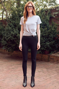 LUXE Ponte Leggings (Black)